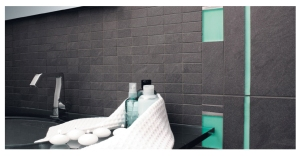 Spa Mosaic Glass and Porcelain Tile mfr: Graniti Fiandre